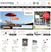 Design-Bestseller Online Shop