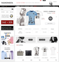 Fashionesta Online Shop