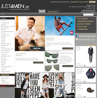 Just4Men Online Shop