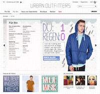 Urban Outfitters Online Shop